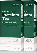 Zija Preimum Detox Tea, Weight Loss Tea, Core Moringa - 30 Pouches Per Box (2 Pack) 60 Total Pouches
