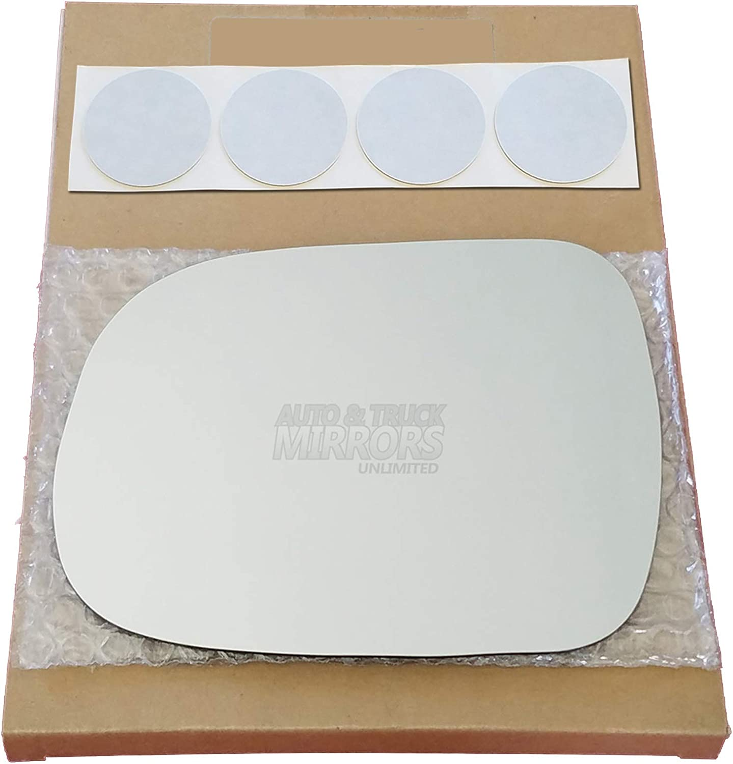 Mirror specialty shop Glass Replacement At the price of surprise + Adhesive for Ta 2005-2011 Toyota Pads