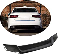 MCARCAR KIT Trunk Spoiler fits Audi A6 C7 A6 Sline S6 Sedan 2012-2018 Factory Outlet Carbon Fiber CF Rear Boot Lid Highkick Wing Lip