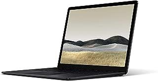 Microsoft Surface Laptop 3 [VEF-00034] Touchscreen Laptop, Intel Core i7-1065G7, 13.5 Inch, 256GB, 16GB RAM, Intel® Iris™ Plus Graphics, Win10, Eng-Ara KB, Black Color [Middle East Version]