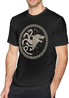 Game of Thrones Stark/Targaryen Sigil Black Shirt