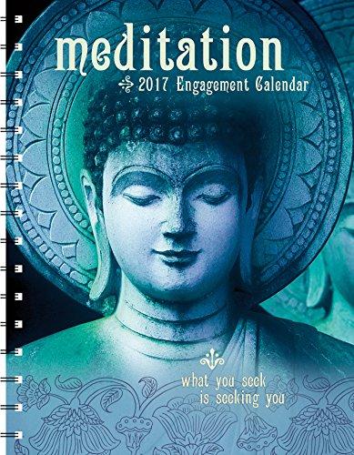 Meditation 2017 Engagement Datebook Calendar