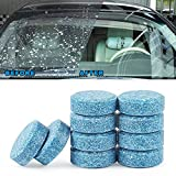BZQamy Auto Car Windshield Glass Washer Window Cleaner Safe Compact Effervescent Tablets Detergent Fine Concentrated Solid (10)