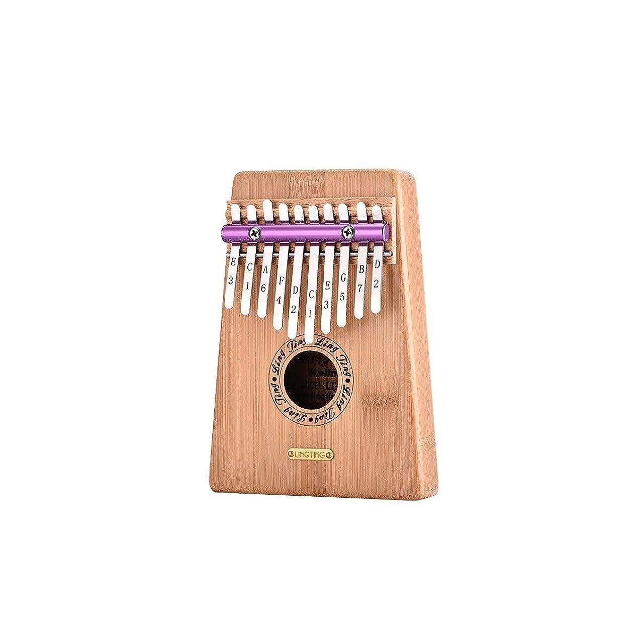 解放する謝罪する台風Kalimbaqin Beginner 10トーンフィンガーピアノKalimbaフィンガーピアノ、初心者向け、プロフェッショナルパフォーマンス、最高のギフト (Color : Wood color-B)
