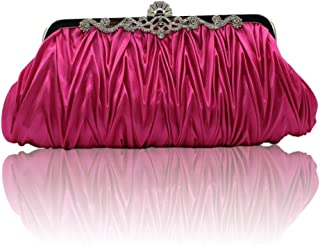 Kingluck Silk Cocktail Evening Handbags/Clutches in Gorgeous Silk More Colors Availabl