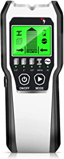 Stud Finder 5 in 1 Electronic Stud Sensor Beam Joist Finder Wall Detector Edge Center Find Battery LCD Display, Used for W...