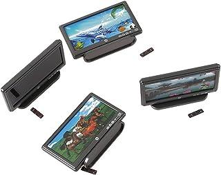 Acamifashion Mini TV Toy Miniature Display Screen Doll's House Remote Control Accessory - Multicolor