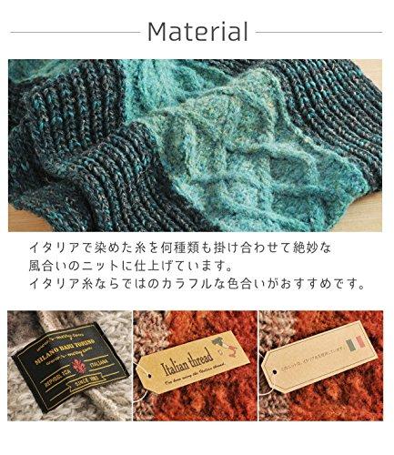 三京商会『イタリア製糸ニットスヌード』