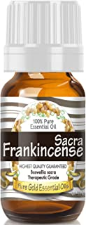 Pure Gold Frankincense Sacra Essential Oil, 100% Natural & Undiluted, 10ml