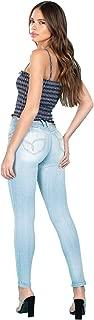 Jeanswear Juniors' Mid-Rise Super Soft Wannabettabutt Skinny Jegging Jeans