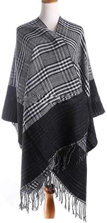 Women's Shawl Wrap Fashion Scarf Warm Winter Cold Winter Soft Wedding Party,Black165  140cm