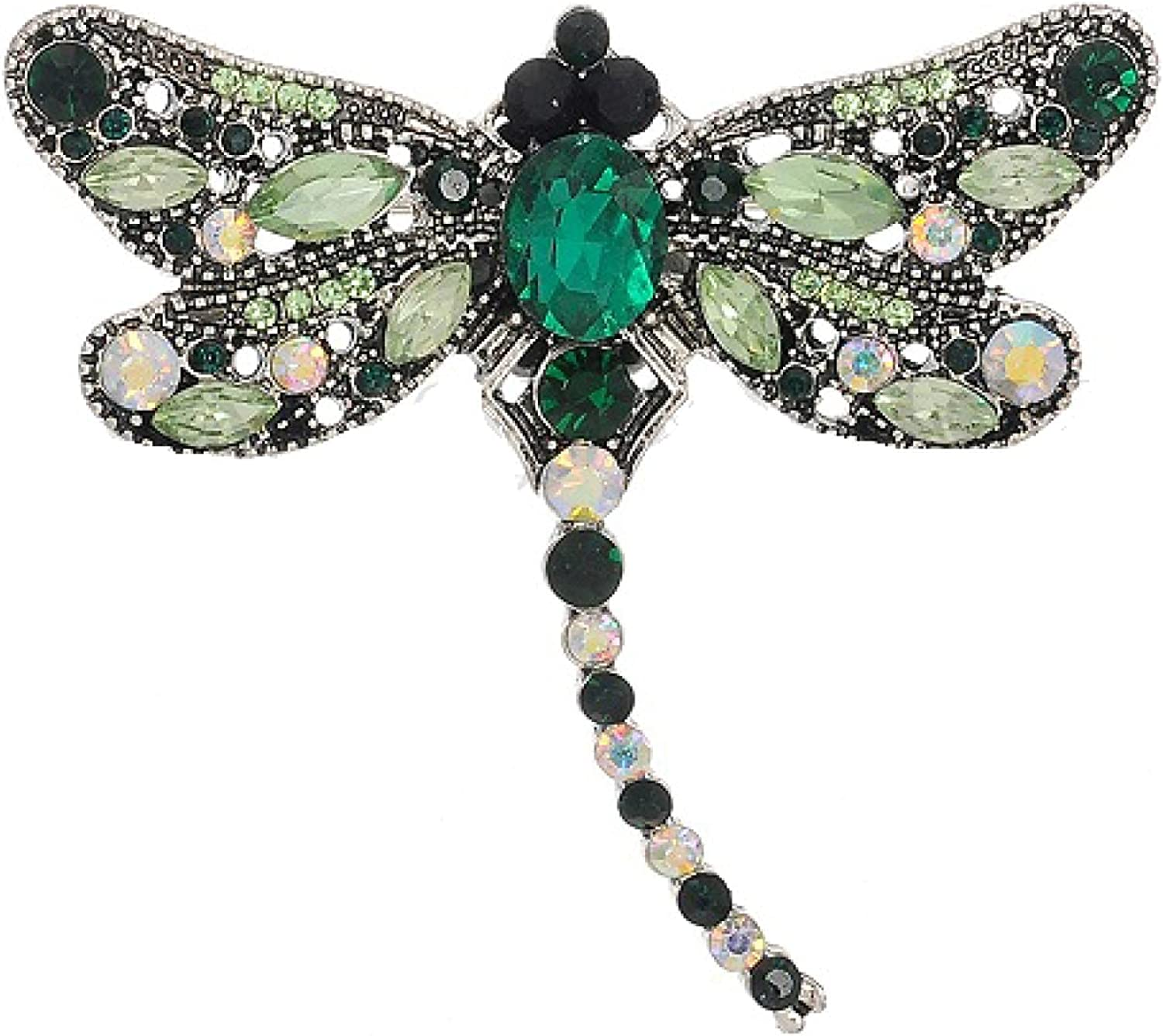 Big Dragonfly Mail order Vintage Rhinestone Brooches for Pin Online limited product Women Crystal