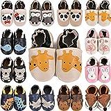 scarpine in pelle prima infanzia scarpe neonato scarpine primi passi morbida pelle scarpine prima infanzia suola scamosciata