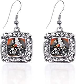 motorcycle earrings jewelry