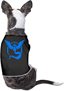 Pokemon Go Teams Team Mystic Filter Dog Clothes Sweaters Dog Apparel Jackets