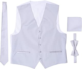 Best black tux with ivory vest and tie Reviews