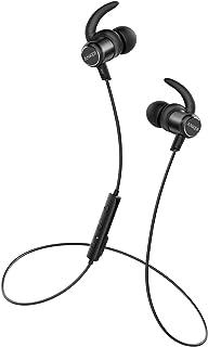 Anker SoundBuds Slim+ ( カナル型 Bluetooth ワイヤレスイヤホン )【 Qualcomm® aptX™ audio対応 / マイク内蔵 / IPX5 防水規格】iPhone, Android 各種対応