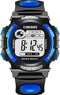 Digital Watch with LED Light Waterproof Outdoor Electronic Wristwatch for men & women
