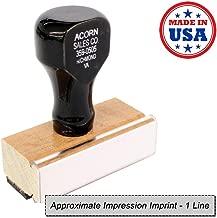 1 Line Regular Rubber Stamp
