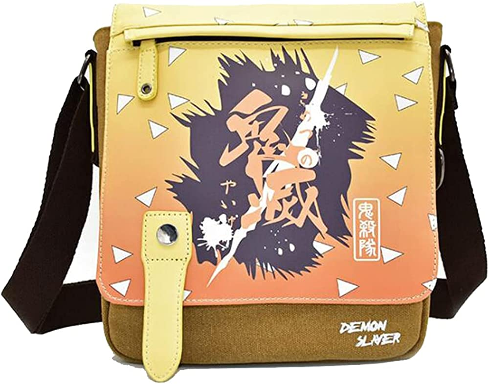 Messenger Superior Bags - Anime Demon Slayer: Luxury goods Yaiba Kimetsu Can no Casual