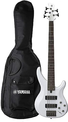 Yamaha TRBX305 WH 5-String Electric Bass Guitar