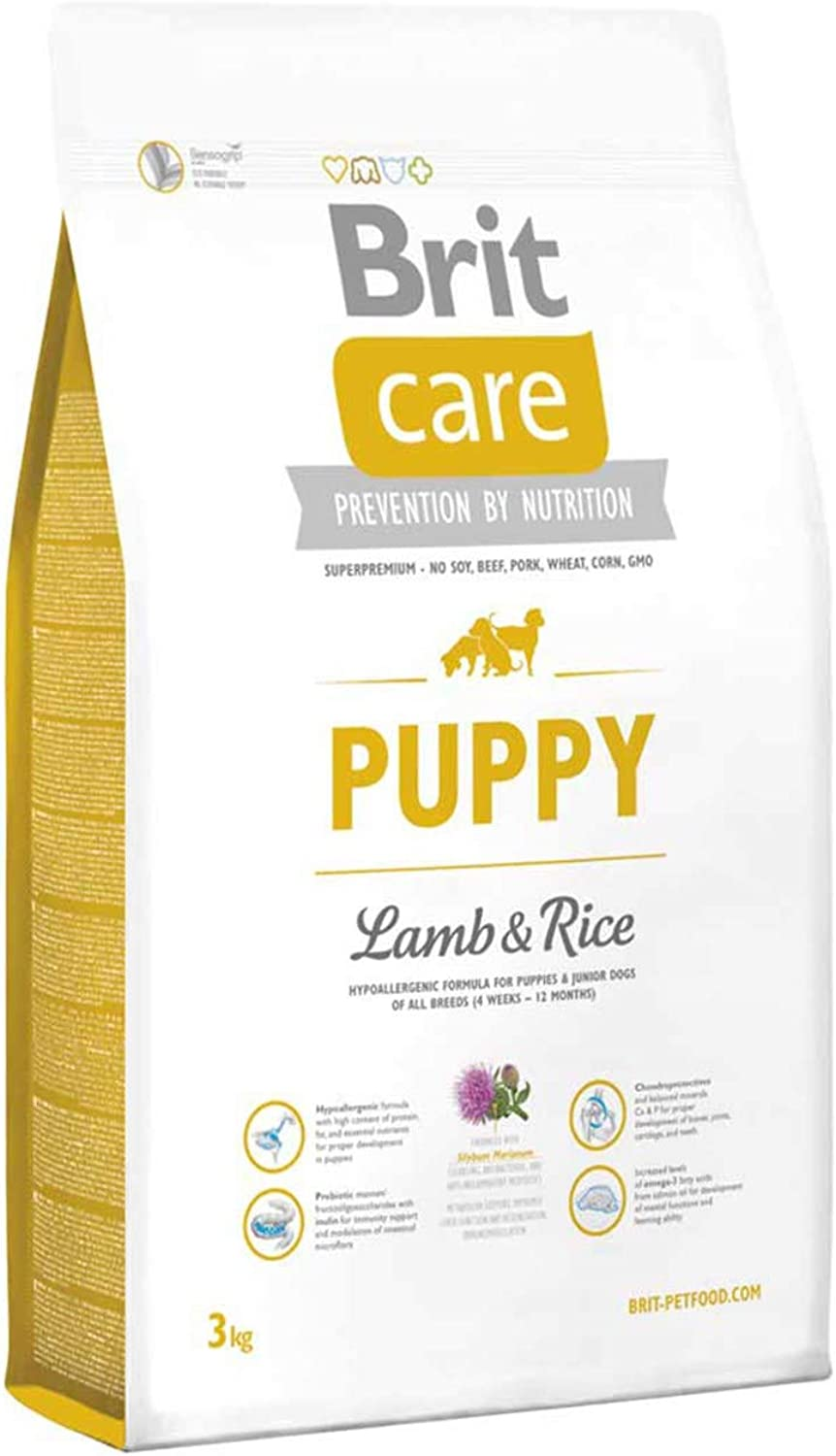 Brit Care Puppy Food, Lamb and Rice, 12 kg