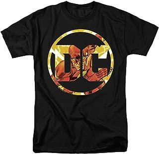 Flash DC Comics Logo T Shirt & Stickers