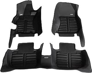 TuxMat Custom Car Floor Mats for Subaru WRX/WRX STI 2015-2020 Models- Laser Measured, Largest Coverage, Waterproof, All Weather.The BestSubaru WRX/WRX STI Accessory. (Full Set - Black)