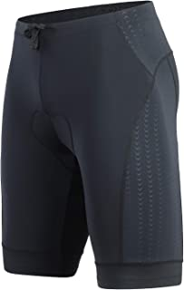BEROY Men's Triathlon Shorts with One Back Pocket,Tri Shorts Cycling Shorts