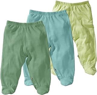Babysoy Eco Essential 3-Piece Footie Pants Set