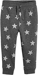 Fruitsunchen Toddler Boys Girls Knit Sports Pants Cotton Casual Sweatpants