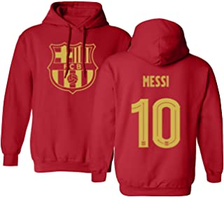 Soccer Shirt LM #10 Futbol Hooded Sweatshirt