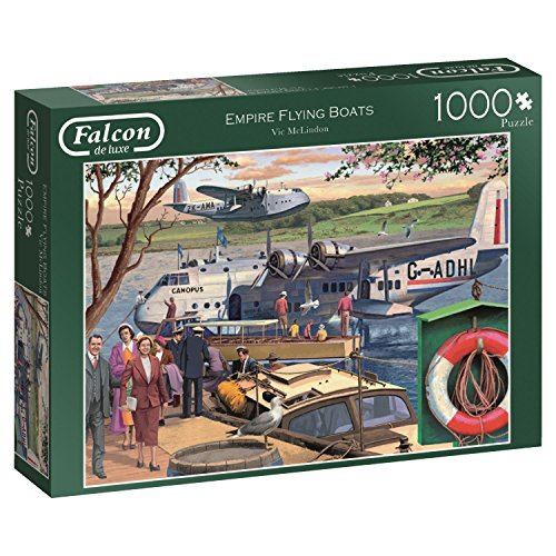 Falcon de luxe Empire Flying Boats - 1000 Teile Puzzle