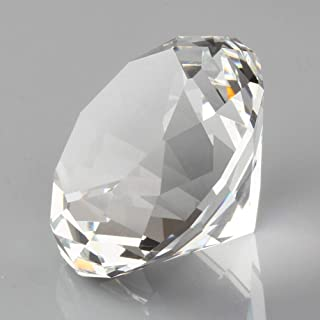 cut crystal paperweight