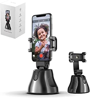 SMART ROBOT CAMERAMAN, 360°Rotation Auto Face Object Tracking Phone Holder, Tracking Selfie Stick