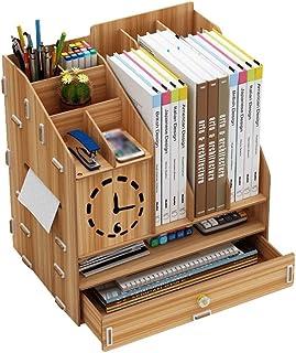 رفوف سطح المكتب رف الكتب سطح المكتب تخزين رف قسم متعدد الوظائف سعة كبيرة مناسبة للتعلم مكتب مكتب مكتب مكتب مكتب رف الكتب