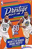 2017/18 Panini Prestige NBA Basketball HUGE 60 Card Factory Sealed HANGER Box with (2) Micro-Etch ROOKIES! Look for RC's & AUTOGRAPHS of Donovan Mitchell, Ja... rookie card picture