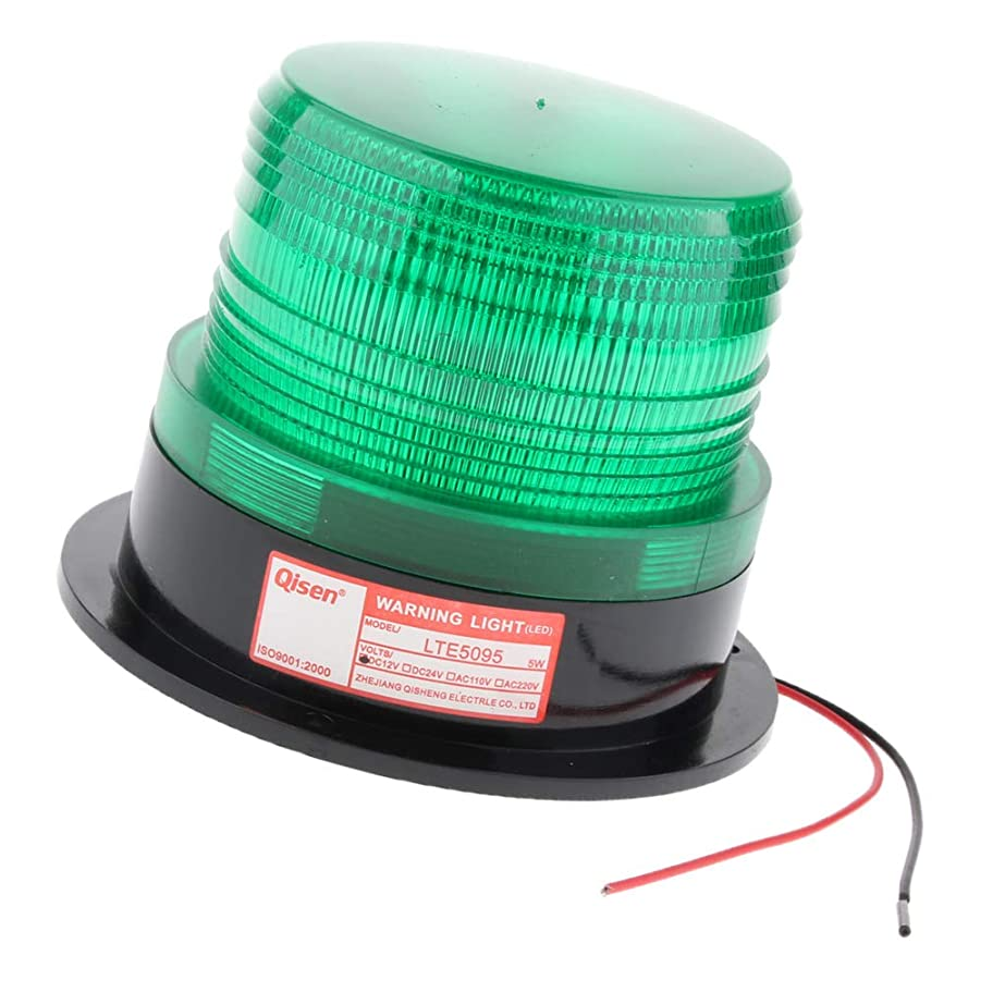 保護するハム簡単にB Blesiya 12V 緊急警告ランプ 非常信号灯 点滅頻度 60?90回/分 全4色 - 緑
