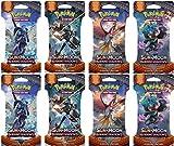 Pokemon TCG Sun & Moon - Burning Shadows 8 Booster Pack Bundle