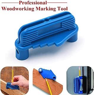Rockler Center/Offset Marking Gauge Tool 53098 Center Scriber Rockler Centre Woodworking Marking Finder Tool Fits Standard Wooden Pencils (1ocs)