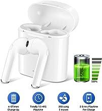 Bluetooth 5.0 Wireless Earphones,Earbuds Stereo In-Ear TWS Wireless Headphones Built - in Mic Headset Premium Sound