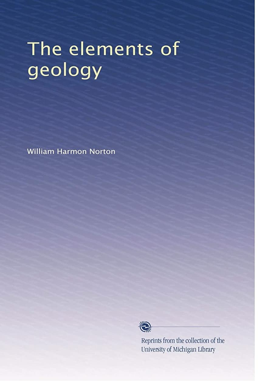 静かな計算赤The elements of geology
