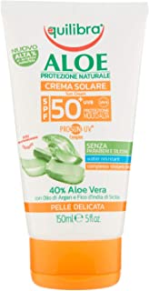 Equilibra Aloe Crema Solare Spf 50+, 150 ml