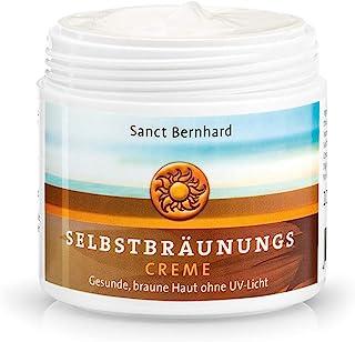 Sanct Bernhard Selbstbräunungs-Creme mit Vitamin E, Ceramiden, Milchlipiden 100 ml