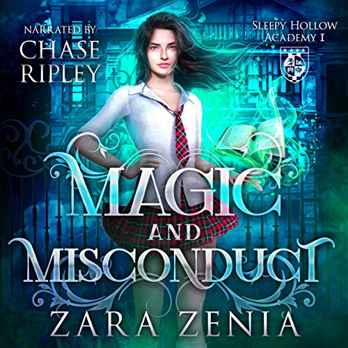 Couverture de Magic and Misconduct: A Paranormal Academy Bully Romance