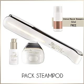 Steampod 2.0 Straightener Pack: Serum + Intense Repair Shampoo 50ml free