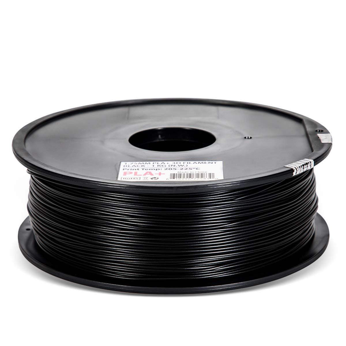 Inland 1.75mm Black PLA PRO 25% OFF PLA+ Spool 1KG 3D Limited price Filament Printer