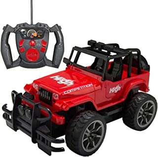 Remote Control Car for Kids Toy Sport Racing Hobby Vehicle, Red
