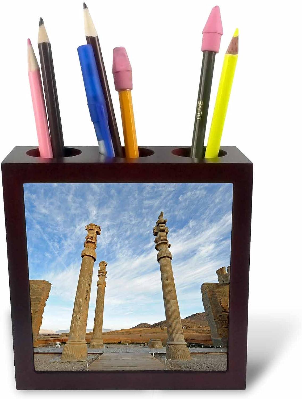 3dRosa 225845 _ PH 1, 2, 2, 2, 5 cm im Shiraz Fars Persepolis alte Zeit-Kultur-Platte mit Halter B01IICP2I6 | Neues Produkt  66d029
