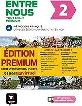 Entre nous 2 (A2). Livre de l'élève + cahier d'exercices + CD + Premium